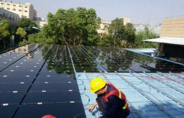 Montaje de Techo solar